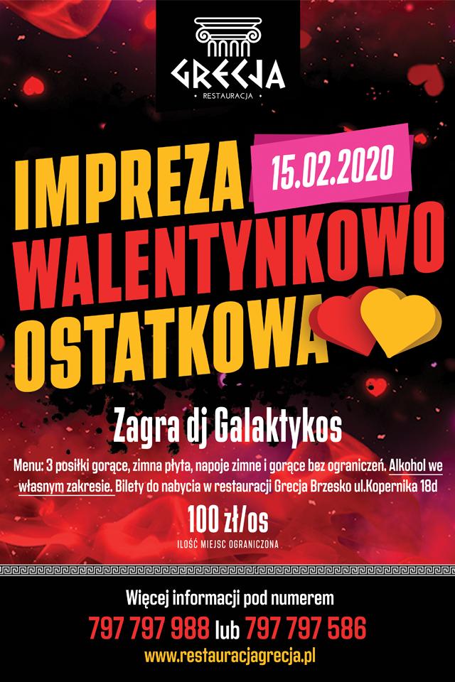 Impreza Walentynkowo-Ostatkowa 2020